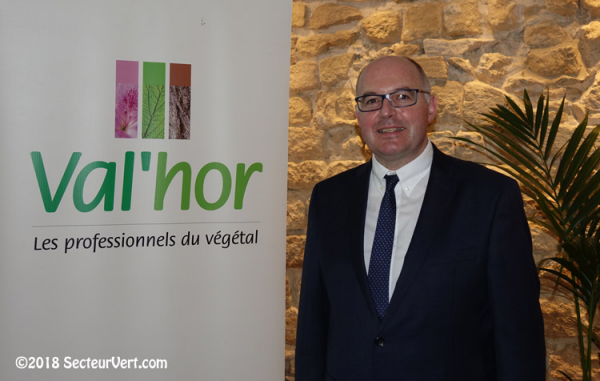 Mikaël MERCIER, Président de l'Interprofession Val'Hor