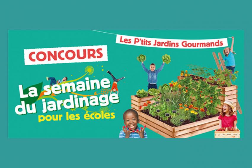 SEMAE - VAL'HOR - Jardineries et Animaleries de France : La Semaine du Jardinage pour les écoles « 2021 », un concours pour mettre à l'honneur Les P'tits Jardins Gourmands !