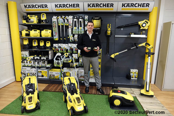 KÄRCHER HOME & GARDEN : Plateformes Kärcher Battery Power 18V et 36V avec Fabien GRIGIS