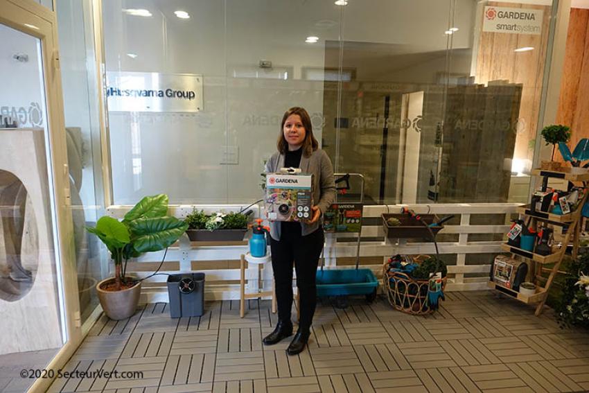 GARDENA : Pauline FAROULT présente AquaBloom, la nouvelle solution d'arrosage automatique solaire pour jardins, balcons, terrasses, potagers… sans électricité ni arrivée d'eau