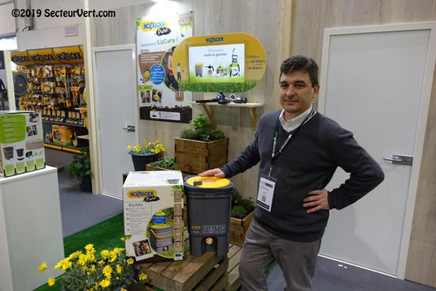 Avec le produit BioMix, HOZELOCK EXEL propose une solution unique pour fabriquer soi-même ses purins de plantes et contribuer au jardinage bio et naturel (prévention des nuisibles, parasites, maladies…)