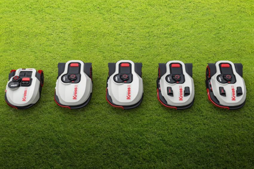 SABRE FRANCE : Nouvelles tondeuses robots intelligentes et connectées KRESS Robotik® Mission™ Nano KR 100, KR 110, KR 111, KR 112, KR 113… des innovations pour l'utilisateur, dans le respect de l'environnement