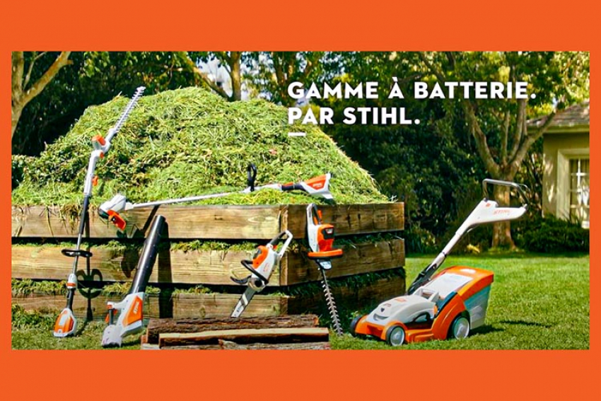 STIHL FRANCE : Nouvelle sélection d'outils à batterie '2021' (RMA 235, RMA 339C, HSA 56, FSA 60R, HLA 56, HSA 26, RMI 422) pour le plaisir de redécouvrir la nature et cultiver son jardin