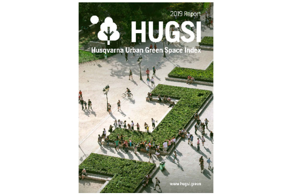 Husqvarna présente HUGSI : Husqvarna Urban Green Space Index