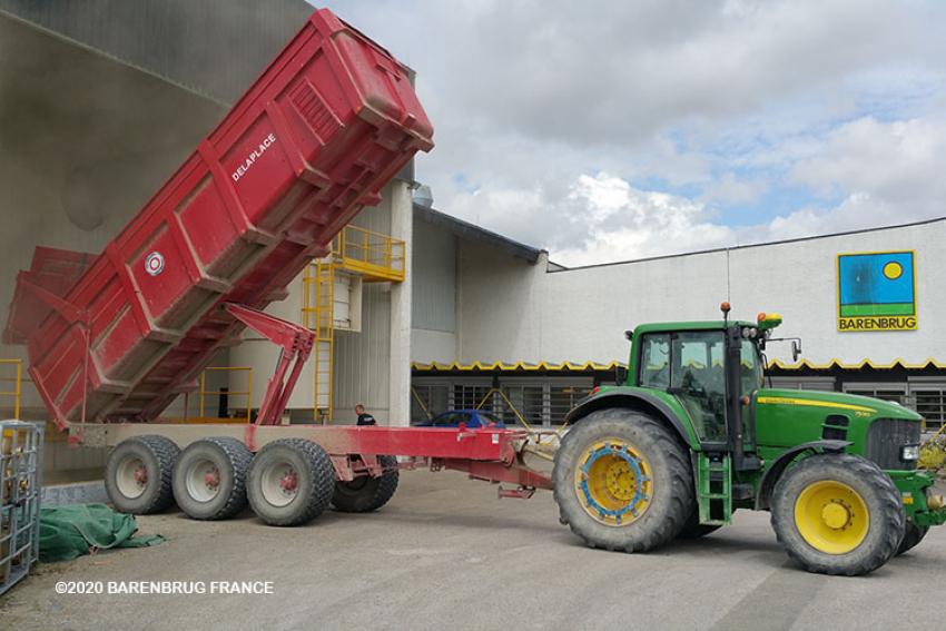 BARENBRUG : Comment sont produites les semences à gazon ? Visite de l'usine de Connantre, dans la Marne (2/5)