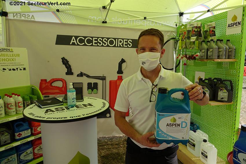 ASPEN FRANCE : Découvrez l'Aspen D, un nouveau carburant Diesel fabriqué à base de végétaux, présenté par Didier LEYNAUD sur Salonvert 2020