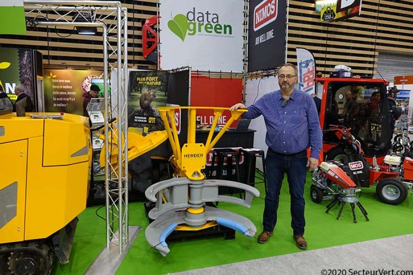 DATA GREEN : Découvrez le nouveau sécateur HERDER-FERMEX à montage sur pelle hydraulique présenté par Frédéric CREPIN