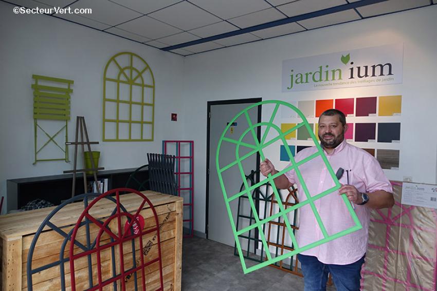 PBI : Jardin'ium, fabricant français de treillages de jardin en aluminium extrudé, se digitalise et lance sa boutique en ligne pour répondre aux attentes de ses clients