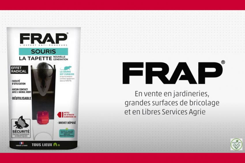 LIPHATECH : Découvrez Frap® une nouvelle gamme d'anti-rongeurs « Made in France » bientôt disponible en magasin pour les particuliers