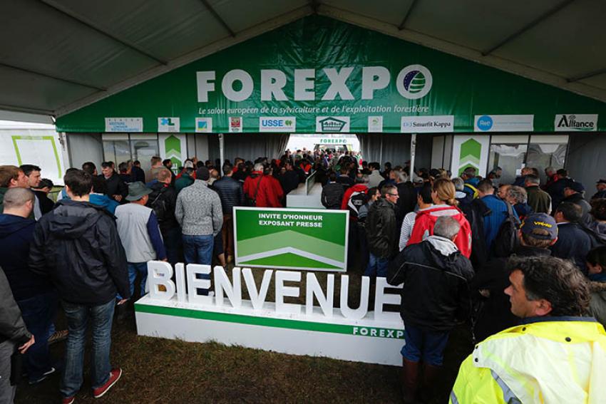 FOREXPO 2021 : Le salon des professionnels européens de la sylviculture et de l'exploitation forestière, du 22 au 24 septembre, à Mimizan