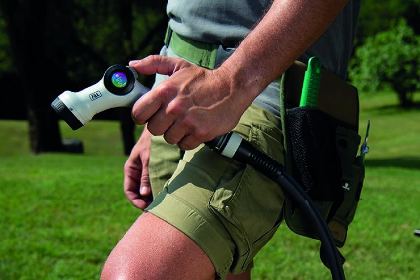FITT Force : le tuyau d'arrosage léger, maniable et solide, pour utilisation intensive à l'année dans de grands jardins, résiste aux températures extrêmes (-40°C + 80°C)