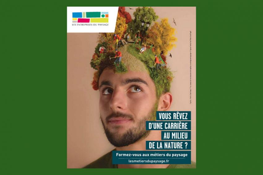UNEP : Lancement d'une campagne de communication dès décembre 2020 pour donner aux jeunes l'envie de s'engager dans la filière paysage