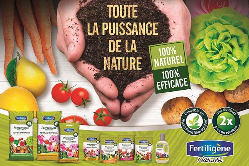 EVERGREEN GARDEN CARE FRANCE : Avec Naturen, la marque Fertiligène propose une des offres les plus complètes du marché en engrais et terreaux pour jardiniers amateurs