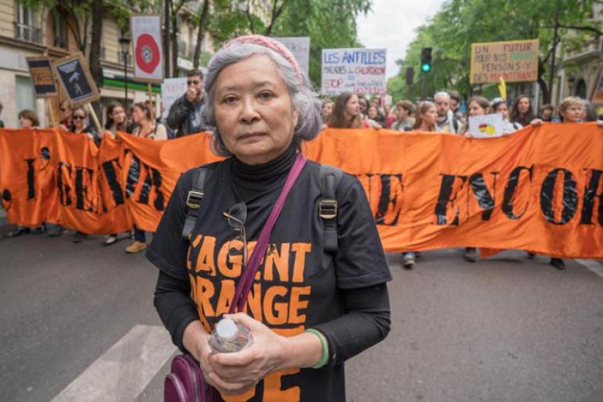 Lundi 25 janvier 2021 : un procès inédit en France contre les géants de l'agrochimie et le combat de Tran To Nga pour rendre justice aux victimes vietnamiennes de l'agent orange