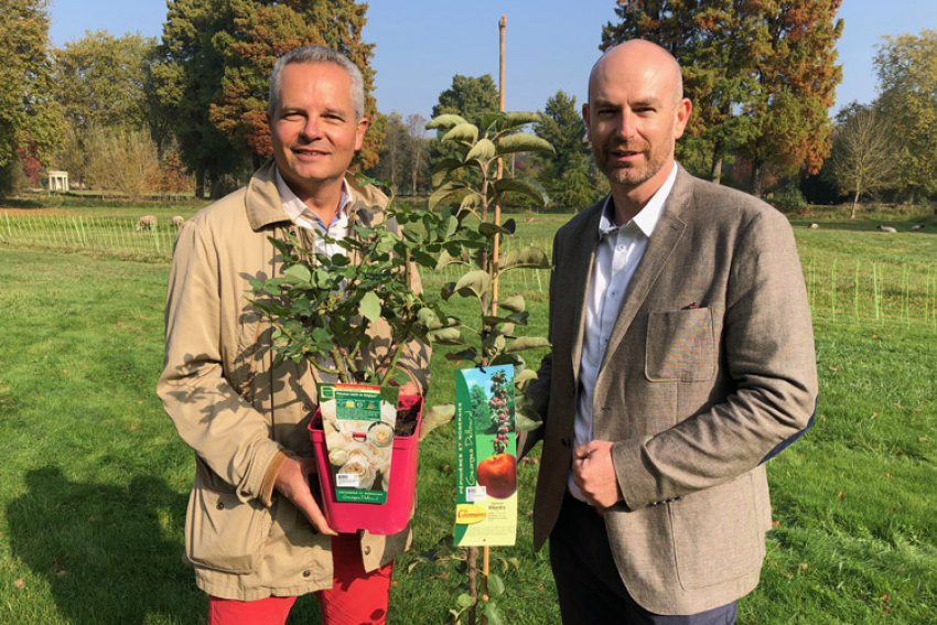 Les PEPINIERES & ROSERAIES GEORGES DELBARD et les PEPINIERES DESMARTIS annoncent ce vendredi 19 octobre 2018 un partenariat qui prendra effet le 1er Janvier 2019, pour associer création variétale et qualité des plantes