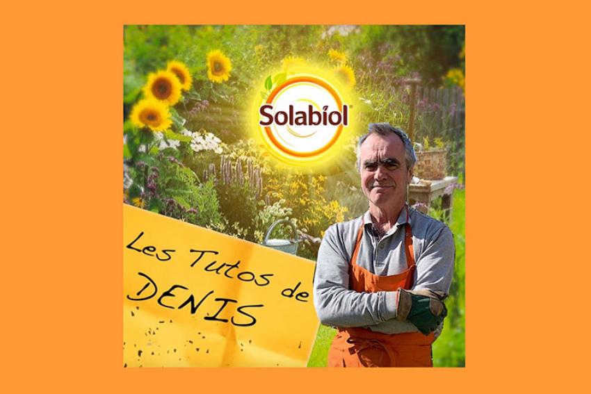 SBM COMPANY : Coronavirus COVID-19… Solabiol, marque de SBM Life Science, vous accompagne aussi pendant le déconfinement avec les tutoriels jardinage de Denis Jardel
