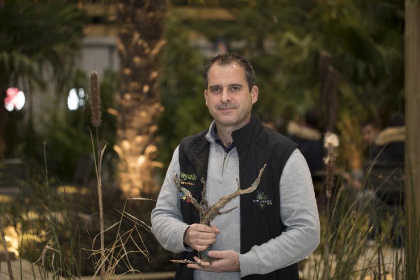 CARRE DES JARDINIERS : Avec son projet « Le renouvellement urbain devient durable », Laurent Gras sacré Maître Jardinier 2019 dans le cadre du Salon Paysalia succède à Anne Cabrol, lauréate 2017
