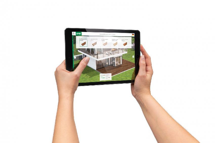 SPAX : Le spécialiste international de solutions professionnelles de vissage pour le bois propose un configurateur de terrasse, outil en ligne pour créer des aménagements extérieurs en quelques clics