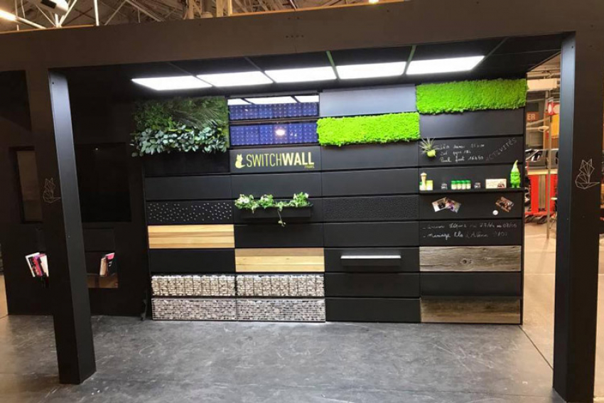 UNIBAL : Le 5ème Prix de l'Innovation, à l'occasion du Concours Lépine 2018, est attribué à Alban Dobremetz pour son invention Switchwall, une solution inédite d'aménagement mural intérieur et extérieur