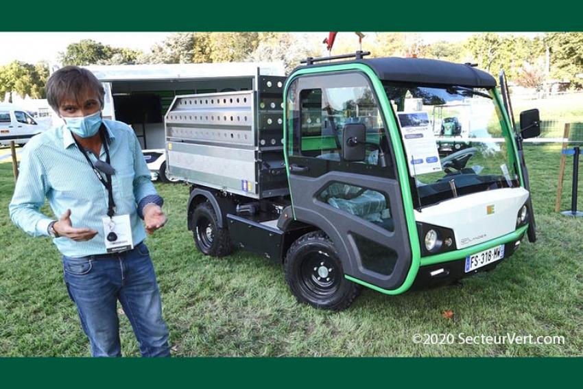 ETESIA lance l'ETLANDER, son 1er véhicule utilitaire multifonction 100% électrique tout-terrain à découvrir sur Salonvert 2020 !