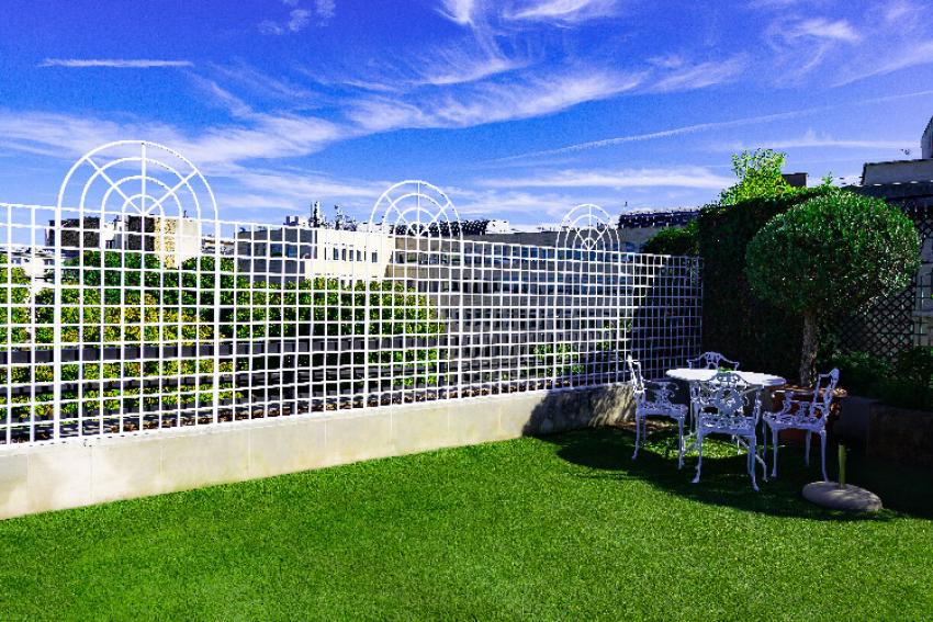 JARDIN'IUM : Découvrez le premier fabricant à proposer des treillages de jardin Made in France, robustes et décoratifs, en aluminium laqué en prêt à poser ou sur-mesure, pour les pro et les particuliers