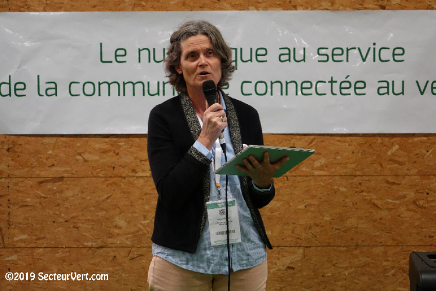 Allocution de Marie Levaux prononcée le 10 septembre 2019 dans le cadre du Salon du Végétal à l'occasion du Congrès FNPHP* 2019 : Inauguration des concept-stores et présentation du Lab 'Conso'