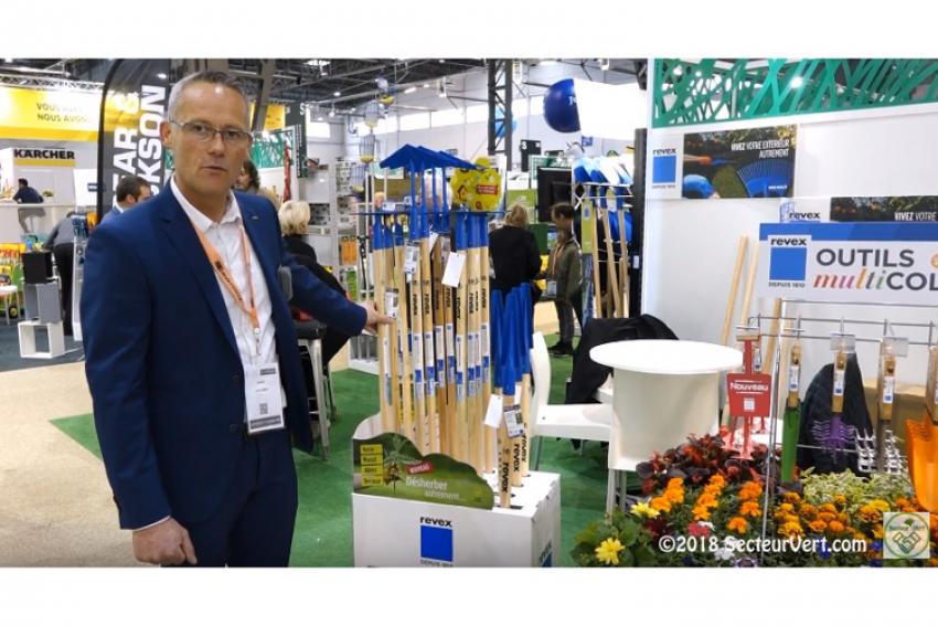 REVEX : Lancement au printemps 2019 de la nouvelle gamme «Made in France» d'outils de désherbage (pelouses, allées, massifs et voirie) pour les professionnels et les particuliers