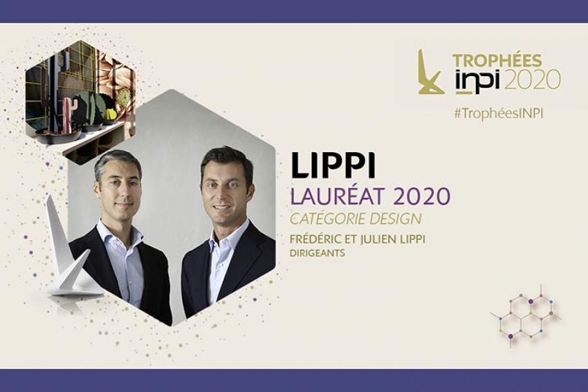 LIPPI® : Industriel français créateur d'univers d'aménagements extérieurs, lauréat des Trophées INPI 2020 dans la catégorie Design