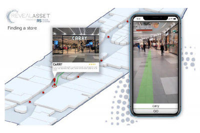 Nouvelle application mobile AR Navigation de Reveal Systems