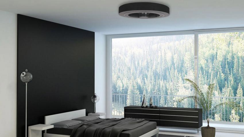 EXHALE FANS : Découvrez le 1er ventilateur de plafond breveté sans pale, une ventilation totale, écologique, silencieuse et saine à 360° pour les professionnels et les particuliers