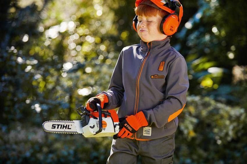 STIHL FRANCE : Noël 2020, Stihl lance sa première gamme de jouets « Wild Kids » pour communiquer la passion du jardinage aux enfants