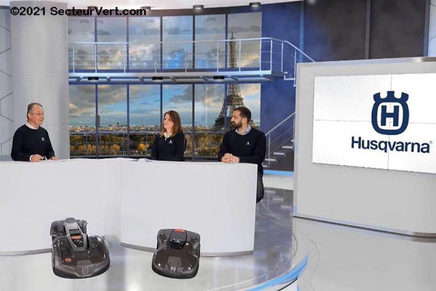 HUSQVARNA FRANCE : La Gamme Automower® 2021, ce sont des robots tondeuses ultra performants et respectueux de l'environnement