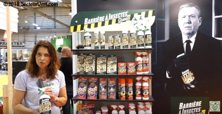 COMPO France SAS : Découvrez Barrière à Insectes Green® de chez Algoflash, la nouvelle gamme d'insecticides 2018 présentée par Valérie BRAULT au Salon du Végétal 2017