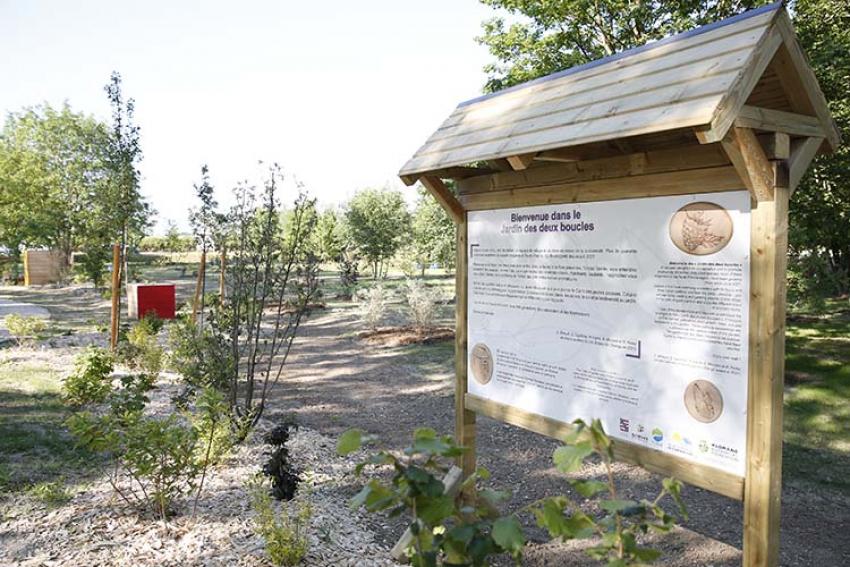 KLORANE BOTANICAL FOUNDATION : Inauguration du Jardin des 2 Boucles à Roissy-en-France Projet Lauréat du Prix National Botany for Change 2021